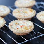 Crab Tartlets #HolidayAppetizers