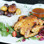 Seared Cornish Hen in Coconut Thai Gravy