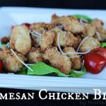 Parmesan Chicken Bites #HolidayAppetizers