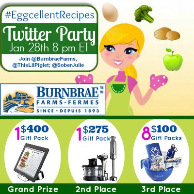 EggcellentRecipes Twitte Party