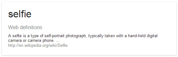 SelfieDefinition