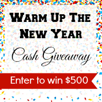 Warm Up with 500 Cash Giveaway