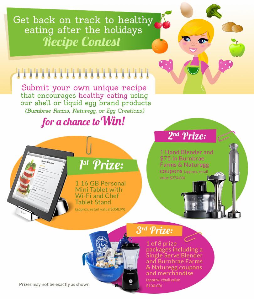 Healthy Egg Recipes Contest