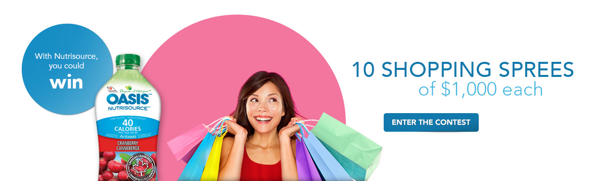 Oasis Shopping Spree Contest