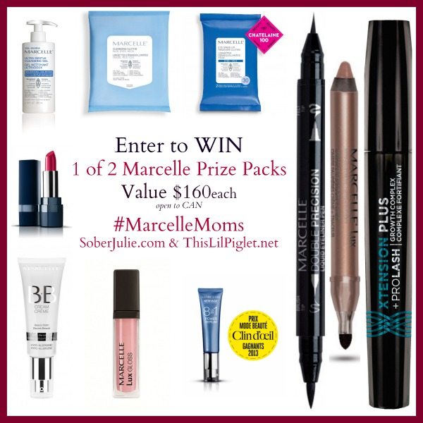 4 Beauty Looks Under 5 Minutes and $320 Giveaway #MarcelleMoms