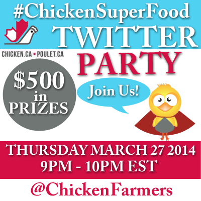 ChickenSuperFood Twitter Party