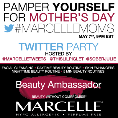 Pamper Yourself at #MarcelleMoms Twitter Party