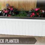 DIY Deck Planter @Ryobi_Canada Brad Nailer Review w/ @HomeDepotCanada