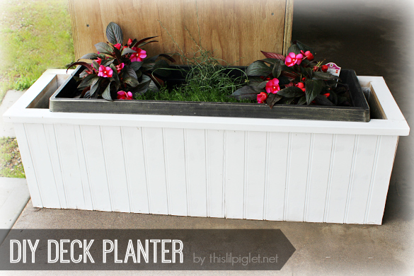 DIY Deck Planter @Ryobi_Canada Brad Nailer Review w/ @HomeDepotCanada