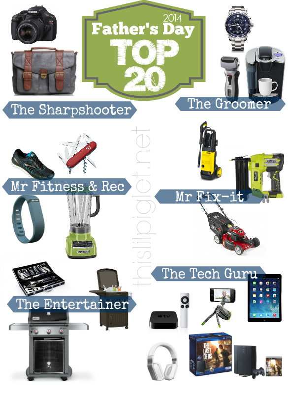 Dads Favourite Things Fathers Day Top 20
