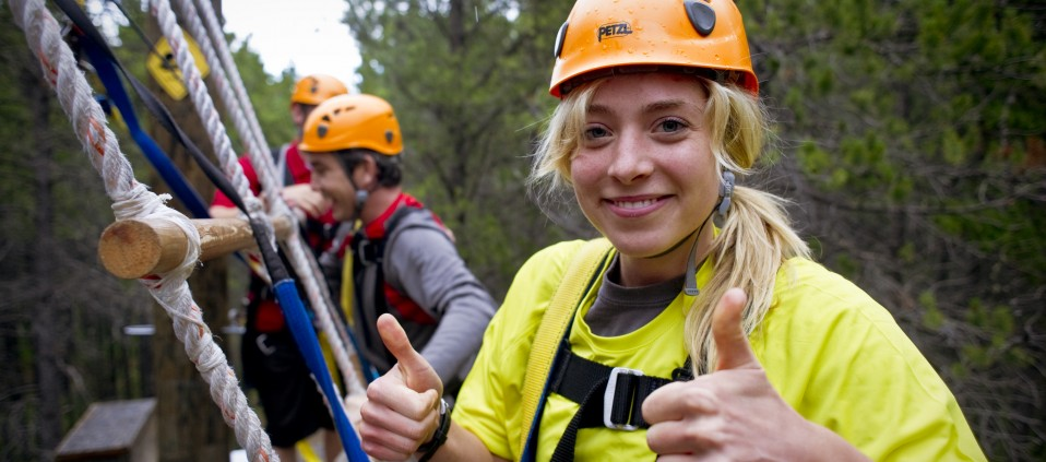 Cypress Hills Saskatchewan Ziplining