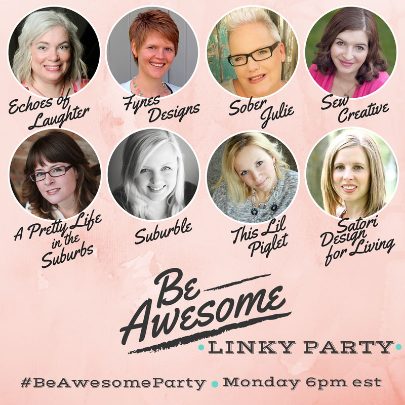 Be Awesome Linky Party 21/07 – Share DIY, Crafts and Recipes #BeAwesomeParty
