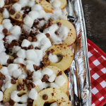 Campfire Apple S'more Nachos