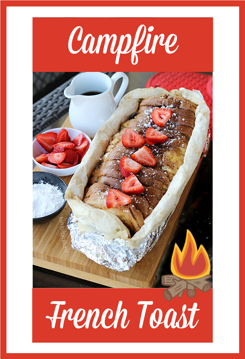 Campfire French Toast is ideal for breakfast or brunch while enjoying an adventure! Delicious and kid friendly!