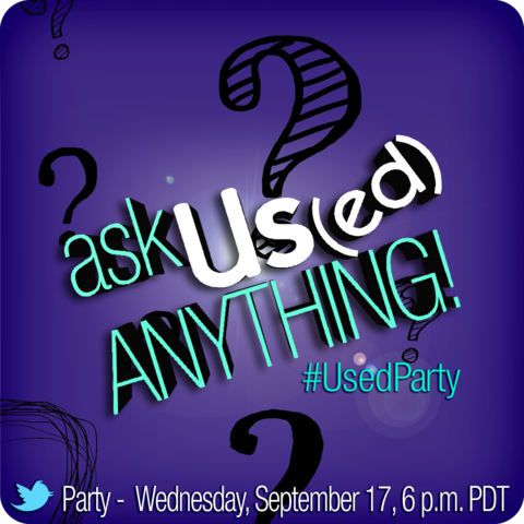 #UsedParty Twitter Party Alert