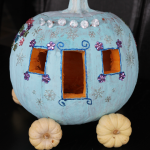 DIY Cinderella Carriage Pumpkin Carving for Halloween