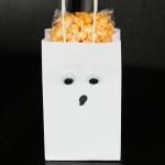 DIY Boo Halloween Ghost Treat Bags
