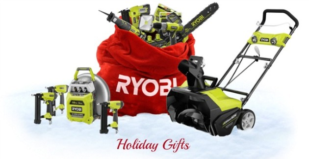 RYOBI Tools Top the Christmas Wish List & Giveaway #HolidayGifts2014