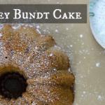 Cherry & Honey Bundt Cake