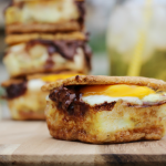 Campfire Recipes: Egg & Nutella S'mores