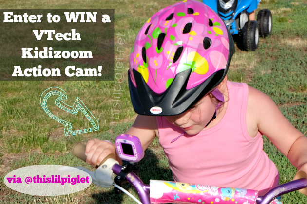 VTech Kidizoom Action Cam Review and Giveaway