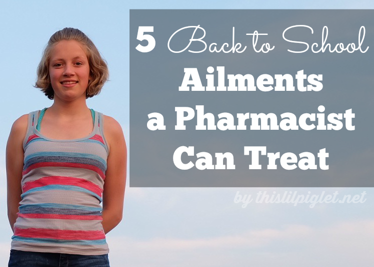 5 Back to School Ailments a Pharmacist Can Treat