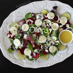 Honey Dijon Beet and Egg Salad