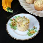 Pineapple Zucchini Crumble Muffins