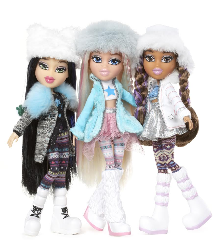 Celebrate Individuality with #SnowKissed Bratz Dolls #SJHolidayGifts