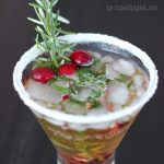 Mistletoe Cocktail for Christmas Entertaining