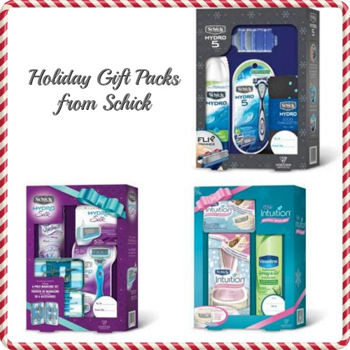 Stocking Stuffer Gift Ideas with Schick Razor Sets #SJHolidayGifts