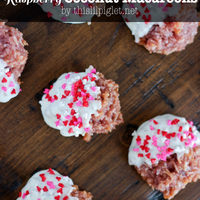 Busting #EggMyths and Chocolate Dipped Raspberry Coconut Macaroons