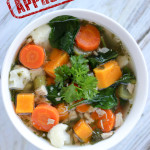Chicken Butternut Squash Vegetable Soup