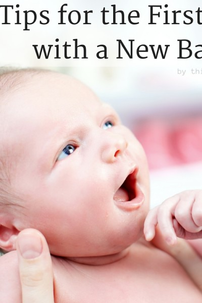 10 Tips for the First Days with a New Baby