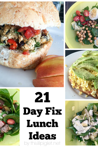 21 Healthy Recipe Ideas 21 Day Fix Approved