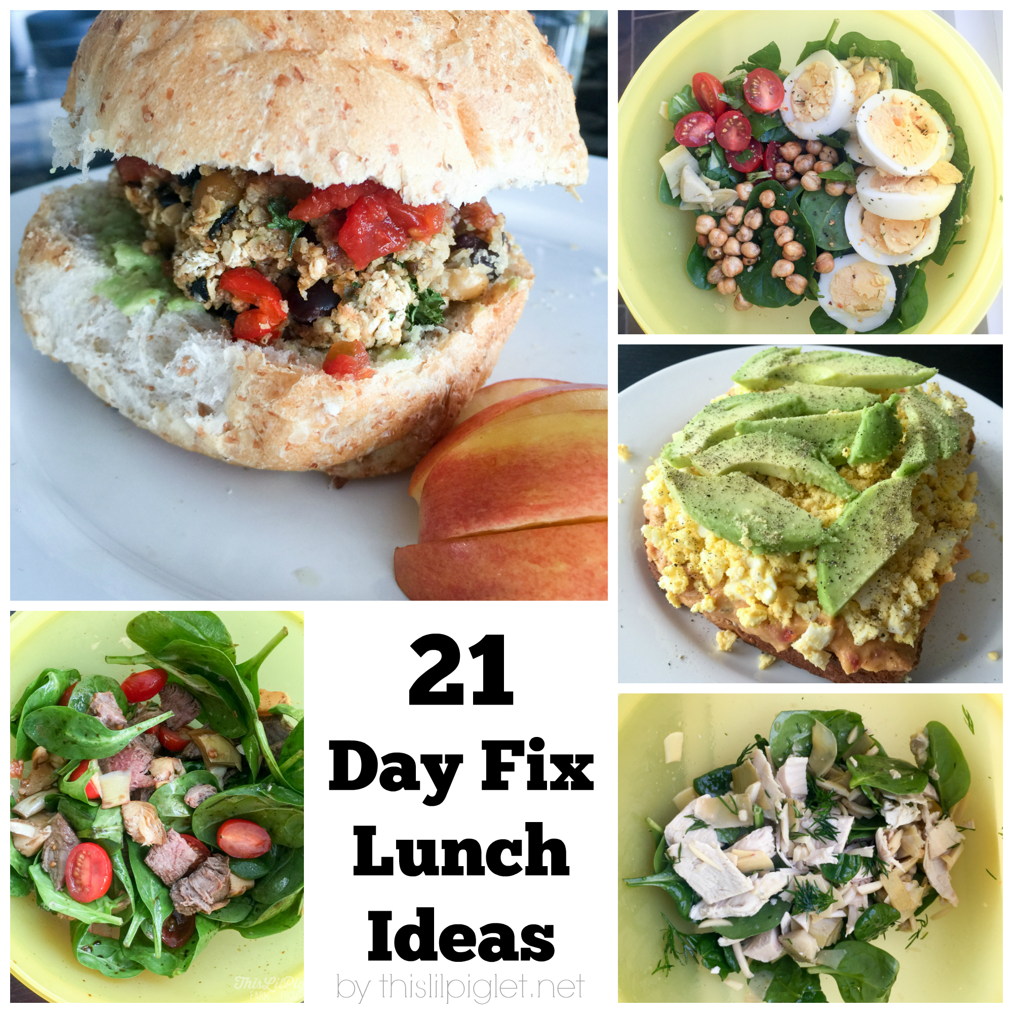 21 Healthy 21 Day Fix Approved Recipes This Lil Piglet