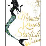 Mermaid Wall Art Printables