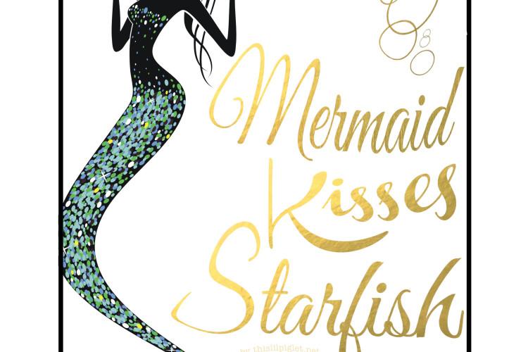 Mermaid Wall Art Printables