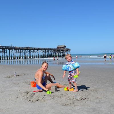 A Family Day at Cocoa Beach on Florida's Space Coast
