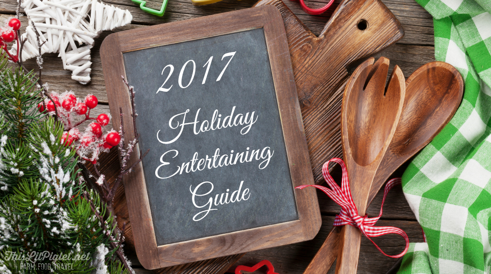 2017 Holiday Gift Guide - Christmas Recipes and Holiday Entertaining // thislilpiglet.net