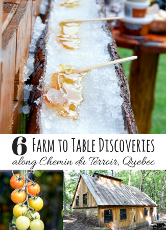 6 Quebec Farm to Table Discoveries along Chemin du Terroir // via @thislilpiglet