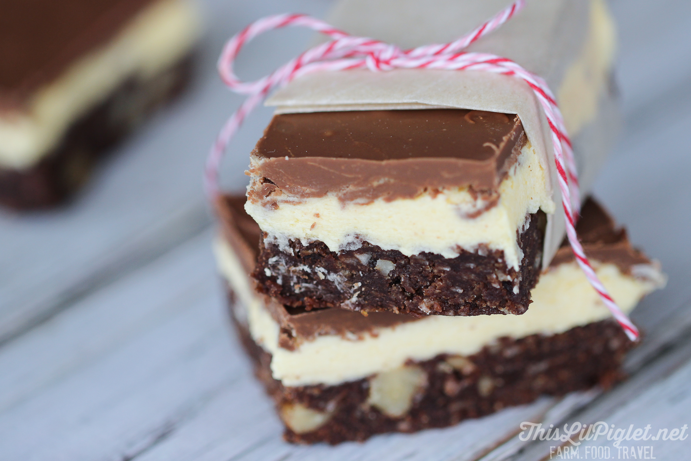 Nanaimo Bars - A Holiday Treat // thislilpiglet.net