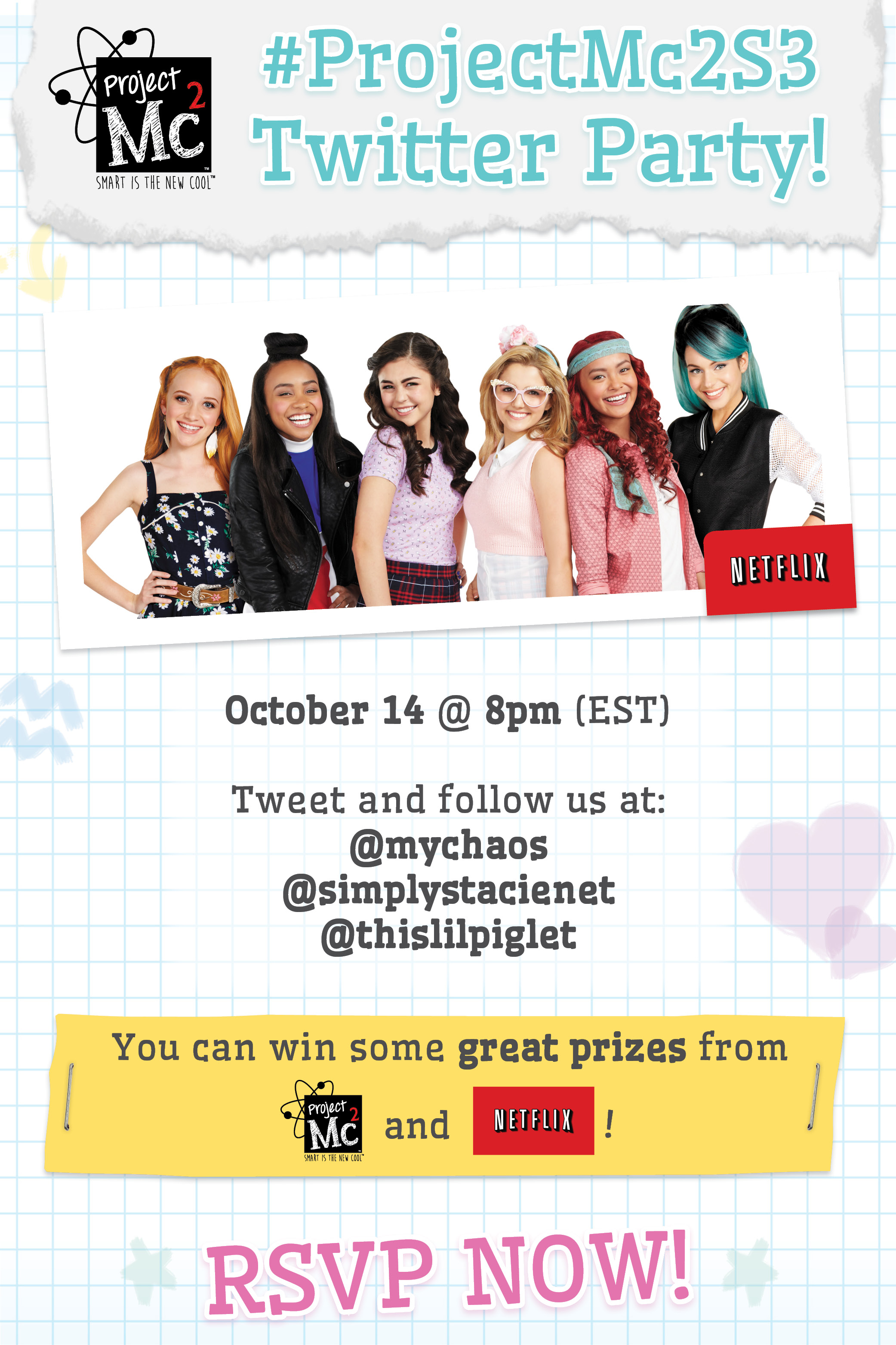 Project Mc2 Season 3 Twitter party