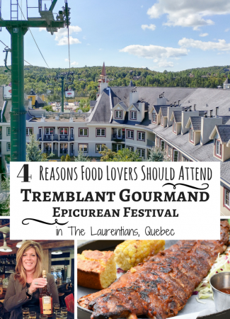 4 Reasons Food Lovers Should Attend Tremblant Gourmand Epicurean Festival in The Laurentians, Quebec // @thislilpiglet
