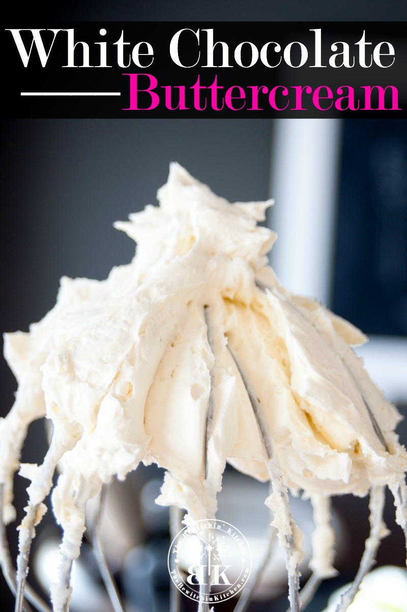 20 Best Buttercream Frosting Recipes - White Chocolate Buttercream Frosting // thislilpiglet.net