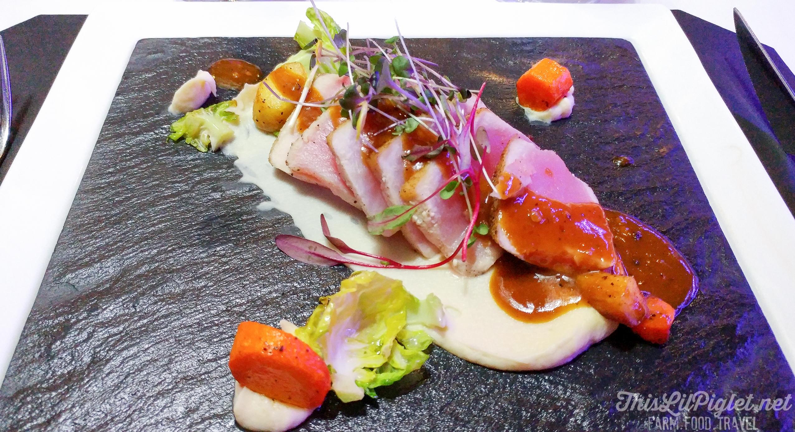 Mahi Tuna at Tremblant Gourmand // @thislilpiglet