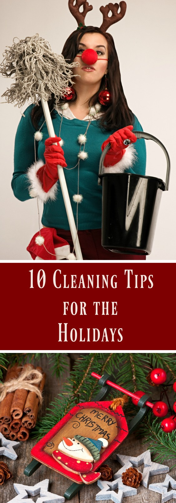 10 Cleaning Tips for the Holidays // thislilpiglet.net