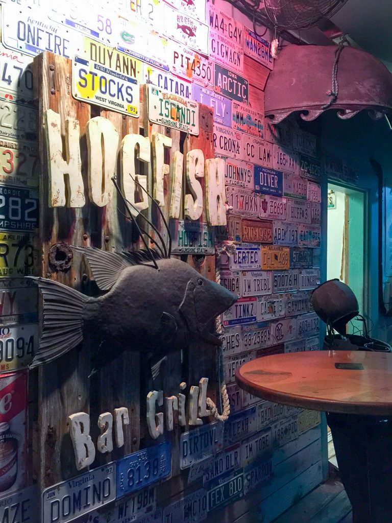 Key West Florida: Where to Eat - HogFish Bar and Grill // thislilpiglet.net