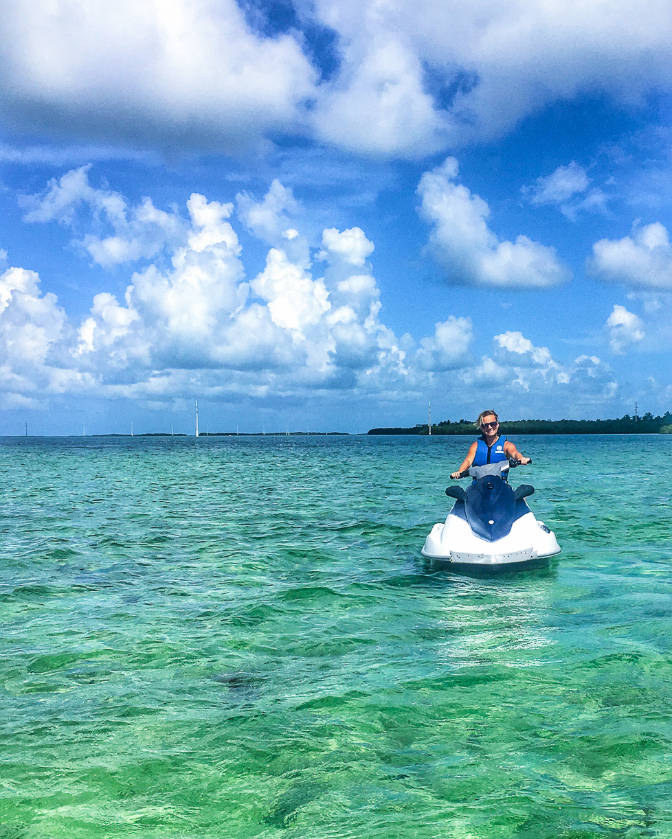 Bucket List Travel Destination: Key West Florida What to Do - Barefoot Billy's Island Jet Ski Tour // thislilpiglet.net