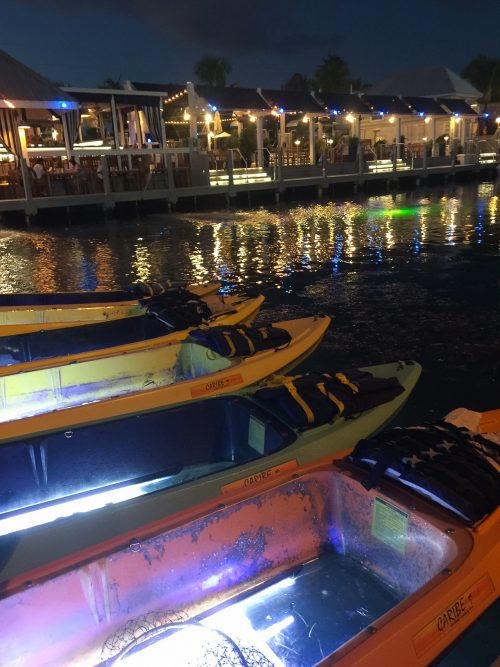 Key West Florida: What to Do - Ibis Bay Beach Resort - Night Kayaking // thislilpiglet.net